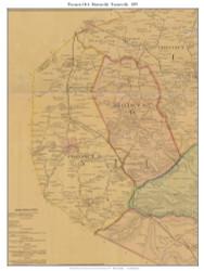 Precinct 5 & 6 - Hustonville - Milledgeville - Mt Salem - Turnersville - McKinney Station, Kentucky 1879 -  Lincoln Co.
