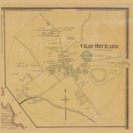 Crab Orchard Village, Precinct 3, Kentucky 1879 - Lincoln Co.