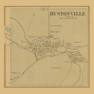 Hustonville Village, Precinct 5, Kentucky 1879 - Lincoln Co.