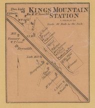 Kings Mountain Station, Precinct 7 , Kentucky 1879 - Lincoln Co.