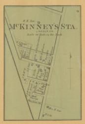 McKinney's Station Village, Precinct 6, Kentucky 1879 - Lincoln Co.
