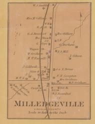 Milledgeville Village, Precinct 5, Kentucky 1879 - Lincoln Co.