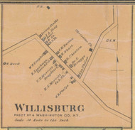 Willisburg Village, Precinct 4, Kentucky 1877 - Washington Co.