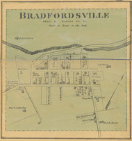 Bradfordsville Village, Precinct 2, Kentucky 1877 - Marion Co.