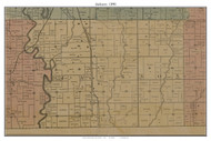 Jackson, Missouri 1890 Old Town Map Custom Print Grendy Co.