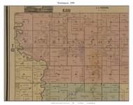 Washington, Missouri 1890 Old Town Map Custom Print Grendy Co.