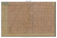 Wilson, Missouri 1890 Old Town Map Custom Print Grendy Co.