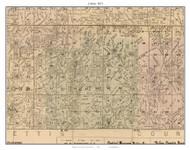 Liberty, Missouri 1871 Old Town Map Custom Print Saline Co.