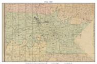 Perry - Bonne Terre , Missouri 1882 Old Town Map Custom Print St. Francois Co.