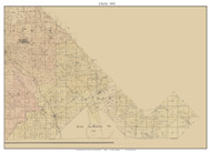 Liberty -Knoblick - Libertyville, Missouri 1882 Old Town Map Custom Print St. Francois Co.