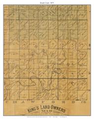 Brush Creek, Missouri 1875 Old Town Map Custom Print Gasconade Co.
