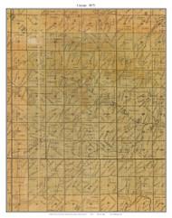 Canaan, Missouri 1875 Old Town Map Custom Print Gasconade Co.