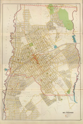 City of Mt. Vernon (Complete - Combo), New York 1893 - Old Town Map Reprint - Westchester Co. Atlas