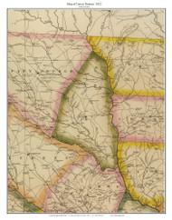Union District, 1822 South Carolina - Wilson - Old Map Reprint