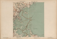 Swampscott, Revere, Winthrop, & Boston Bay Area, Massachusetts 1891 Old Town Map Reprint - Walker State Atlas Plate 05