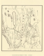 Winchester, New Hampshire 1877 Old Town Map Reprint - Cheshire Co.