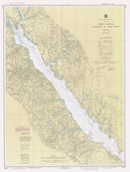York River - Yorktown to West Point 1984 - Old Map Nautical Chart AC Harbors 495 - Virginia