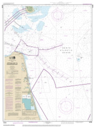 Approaches to Chesapeake Bay 2014 - Old Map Nautical Chart AC Harbors 3335 - Virginia