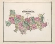 Hampshire County, Massachusetts 1873 - County Atlas