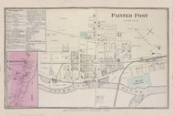 Erwin Painted Post Greenwood, New York 1873 - Old Town Map Reprint - Steuben Co. Atlas