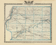 Whiteside County, 1876 Illinois - Old Map Reprint - Warner & Beers Illinois State Atlas