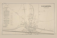 Canasota North, New York 1875 - Old Town Map Reprint - Madison Co. Atlas