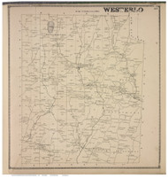 Westerlo, Albany Co., New York 1866 - Old Town Map Reprint - Albany & Schenectady Cos. Atlas