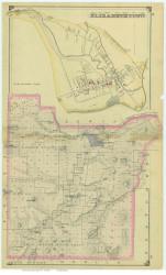 Elizabethtown, New York 1876 - Old Town Map Reprint - Essex Co. Atlas