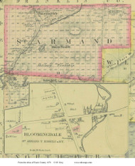 St. Armand, New York 1876 - Old Town Map Reprint - Essex Co. Atlas