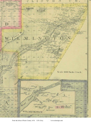 Wilmington, New York 1876 - Old Town Map Reprint - Essex Co. Atlas