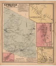 Ephratah, Fulton Co. New York 1868 - Old Town Map Reprint - Montgomery & Fulton Cos. Atlas