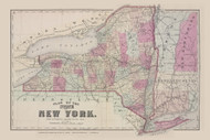 State of New York, New York 1873 - Old Town Map Reprint - Columbia Co. Atlas