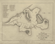 Boston 1630 - Boston Early Maps