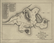 Boston 1632 - Boston Early Maps