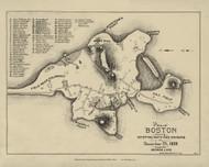 Boston 1633 - Boston Early Maps
