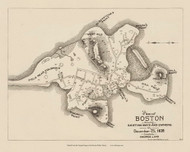 Boston 1635 - Boston Early Maps