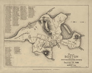 Boston 1636 - Boston Early Maps