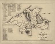 Boston 1637 - Boston Early Maps