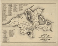 Boston 1638 - Boston Early Maps