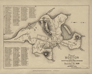Boston 1639 - Boston Early Maps