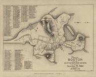 Boston 1644 - Boston Early Maps