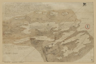 Harpswell 1795  - Old Map Reprint - Maine Cities Other