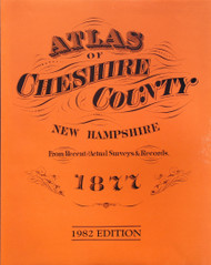 Atlas of Cheshire County, New Hampshire 1877 - Loose Sheets