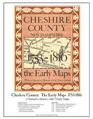 Cheshire County: The Early Maps 1753-1816 ECM- Loose Sheets