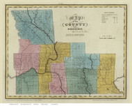 Broome County New York 1829 - Burr State Atlas