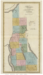 Cayuga County New York 1829 - Burr State Atlas