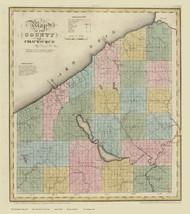 Chautauque County New York 1829 - Burr State Atlas