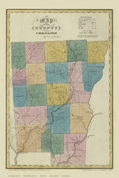 Chenango County New York 1829 - Burr State Atlas