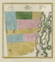 Clinton County New York 1829 - Burr State Atlas