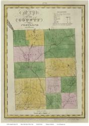 Cortland County New York 1829 - Burr State Atlas